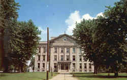 Clay County Courthouse Postcard