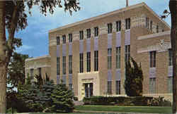Lea County Court House Postcard
