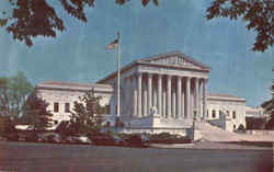 The Supreme Court Building , East Capitol Street and 1st Street