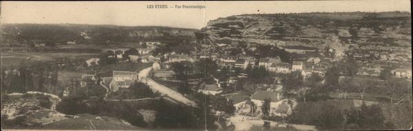 Vue Panoramique Les Eyzies
