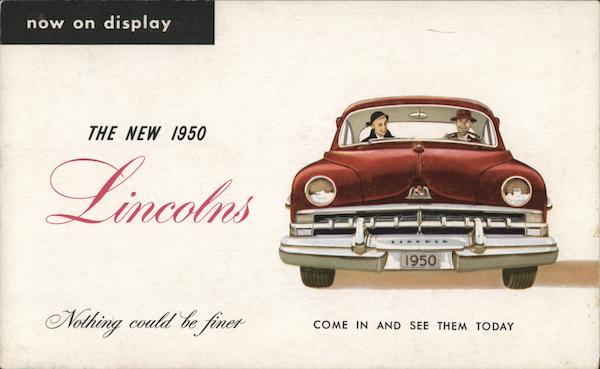 1950 Lincoln Cars