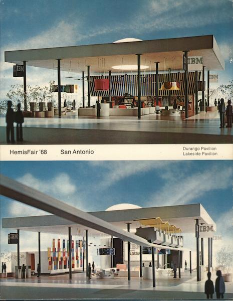 HemisFair 1968, San Antonio, TX - Durango and Lakeside Pavilions