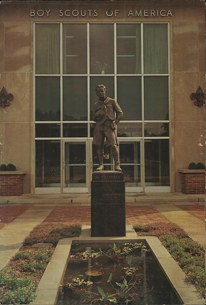 Boy Scouts of America, National Office - R. Tait McKenzie Statue New Brunswick New Jersey