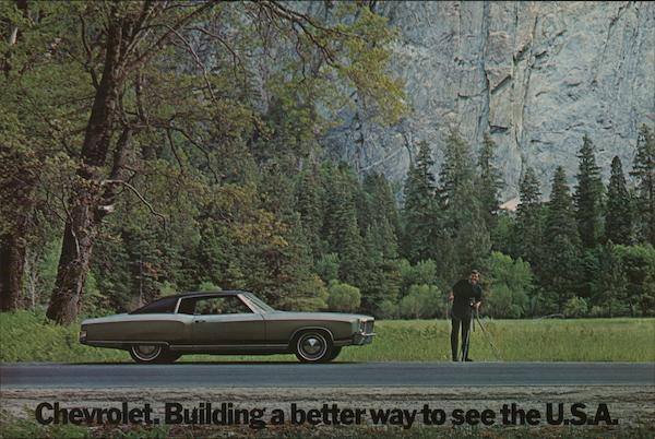 1972 Chevrolet Monte Carlo at Yosemite Cars