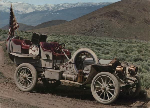 1907 Thomas New York to Paris Racer Cars