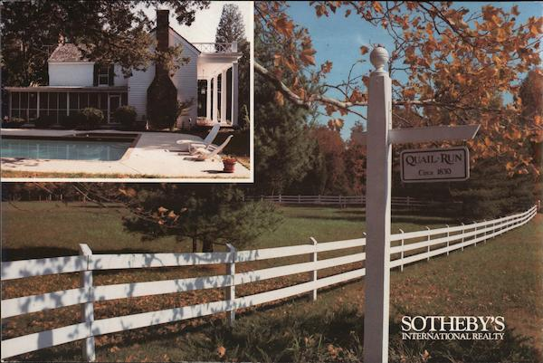 Quail Run - Real Estate Listing by Sotheby's Annapolis Maryland