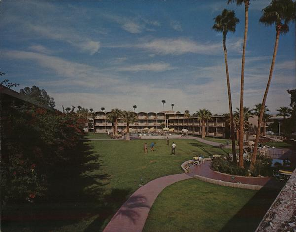 The Oasis - Western International Hotel Palm Springs California