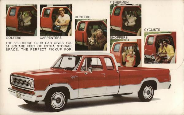 1973 Dodge Club Cab Trucks