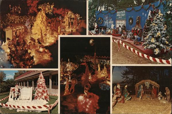 The National Enquirer Christmas Display - The National Enquirer Christmas Display Postcard