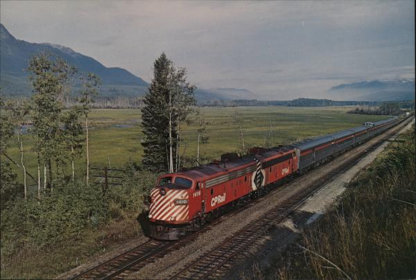 Canadian Pacific - The Canadian Locomotives