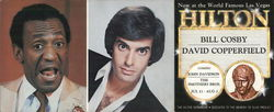 Bill Cosby and David Copperfield at Las Vegas Hilton
