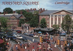 Harvard Square and Harvard University