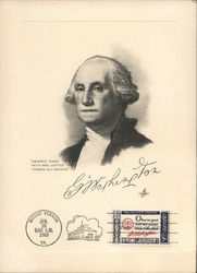 Drawing of George Washington