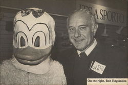 Bob Englander with Donald Duck