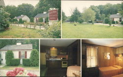 Glo-Min Cottages & Motel Large Format Postcard