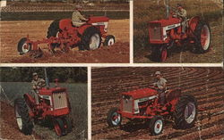 The Four Newest Tractors in the the International Harvester Line