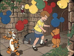 Winnie the Pooh Cartoon Drawing, Disneyland