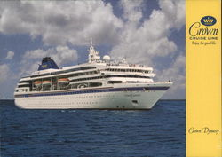 "Crown Cruise Line ""Crown Dynasty"""