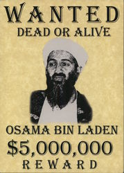 Wanted Dead or Alive Osama bin Laden