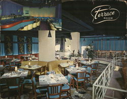 Terrace Room Restaurant & Cocktail Lounge Large Format Postcard