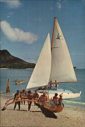 Outrigger Canoe and Catamaran