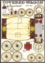 Covered Wagon - Easy to Build!