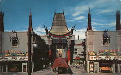 Grauman's Chinese Theater Large Format Postcard
