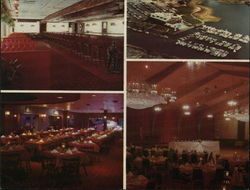 Danversport Yacht Club - The Admiral's Dining Room Large Format Postcard