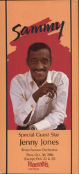 Sammy Davis Junior at Harrah's Casino