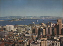 San Francisco-Oakland Bay Bridge from Top of the Mark