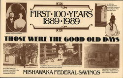 Mishawaka Federal Savings Large Format Postcard