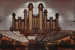 Mormon Tabernacle, Temple Square - Interior
