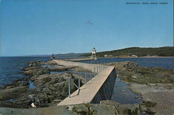 Breakwater Large Format Postcard
