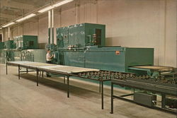 Ross Air Systems - Drying and Curing Line for Hardboard Coatings