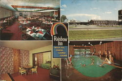 Rainbow Inn Large Format Postcard