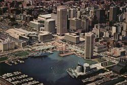 Aerial View of Inner Harbor