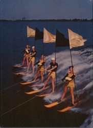 "A Breathtaking Water Skiing Scene from the MGM Production ""Easy To Love"""