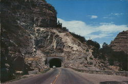 Cloudcroft Tunnel on State Road #3
