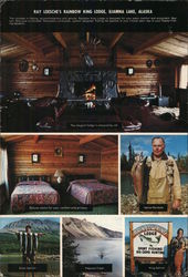 Ray Loesche's Rainbow King Lodge, Iliamna Lake