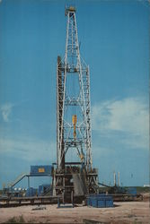 Oil - Black Gold - Oil Drilling Rig