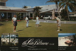 The Lido Biltmore Club Large Format Postcard