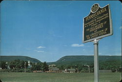 Pocono Mountains of Pennsylvania Large Format Postcard