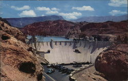 Hoover Dam and Lake Mead Large Format Postcard
