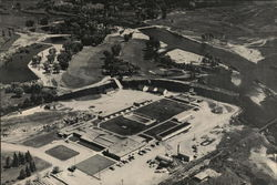 Aerial View of the Saratoga Inn and Country Club