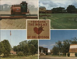 Tonkawa, the Wheat Capital of Oklahoma
