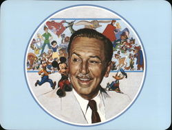 Walt Disney and Cartoon Characters
