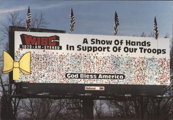 World's Largest Greeting Card Billboard