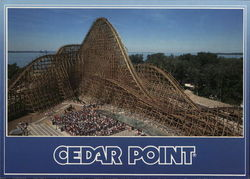 Cedar Point The Mean Streak Rollercoaster