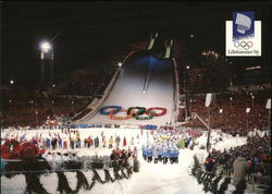Lillehammer Olympic Park - Closing Ceremony Winter Games 1994