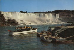 Maid of the Mist Large Format Postcard
